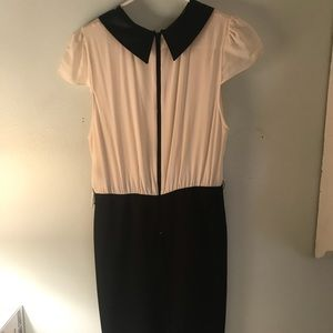 Alice and Olivia black and white formal dress